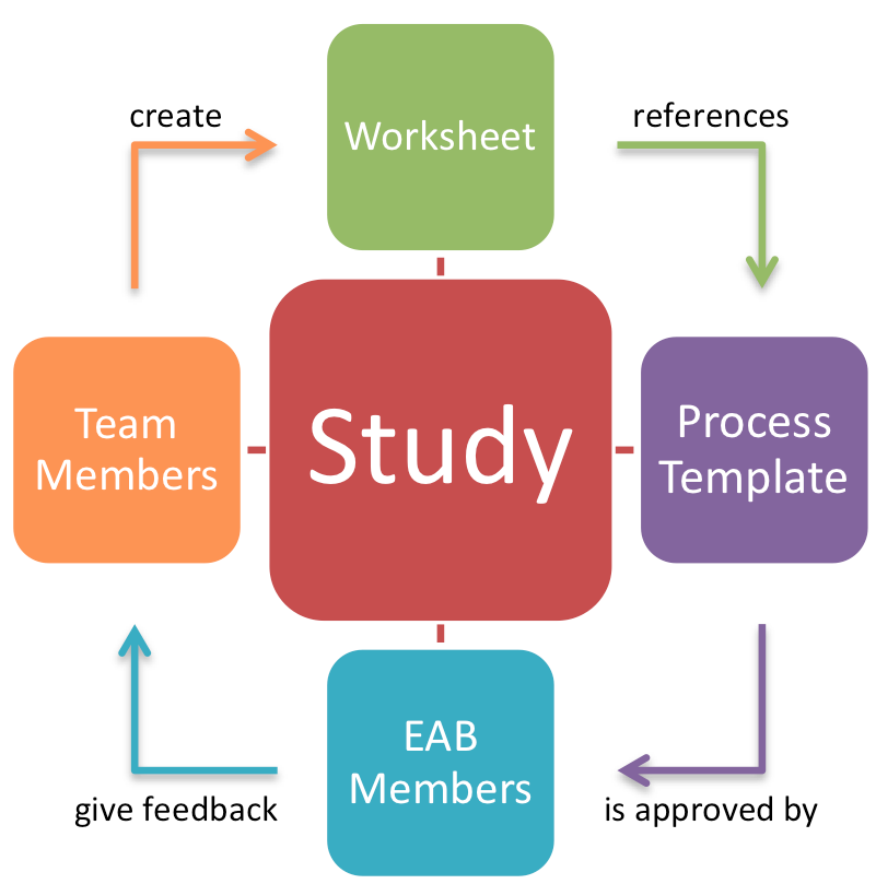 Figure 2: Study Approval and Feedback Process